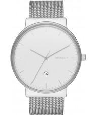 Skagen SKW6290 Reloj para hombre de malla de acero de plata ancher