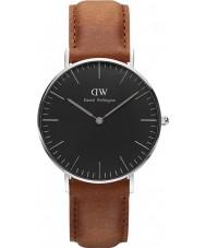 Daniel Wellington DW00100144 reloj de 36 mm Durham negro clásico