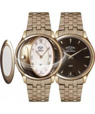 Rotary LB02974-25-41 Revelación de las señoras del reloj