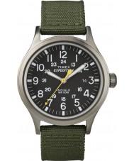 Timex T49961 Para hombre reloj de color verde expedición exploradora