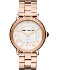 Marc Jacobs MJ3471 Riley damas chapado en oro rosa reloj pulsera