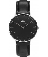 Daniel Wellington DW00100145 reloj de 36 mm Sheffield negro clásico