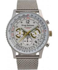 Krug-Baumen 412318DS Reloj de pulsera de hombre de avión de aire