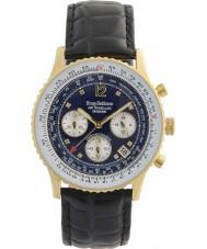 Krug-Baumen 400208DS Reloj de pulsera de hombre de avión de aire