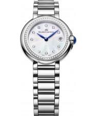 Maurice Lacroix FA1003-SD502-170 Reloj de mujer fiaba de plata redondo con diamantes