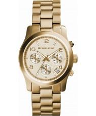Michael Kors MK5055 reloj cronógrafo de oro de las señoras de la pista