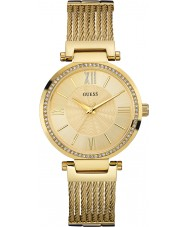Guess W0638L2 Damas soho oro plateado reloj pulsera