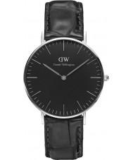 Daniel Wellington DW00100147 reloj de 36 mm de lectura negro clásico