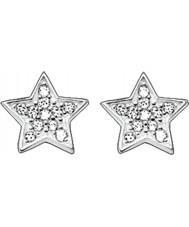 Thomas Sabo H1868-051-14 Señoras zirconia allanan pendientes de la estrella de plata stud