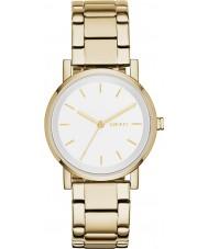 DKNY NY2343 Damas soho reloj de pulsera de acero de oro