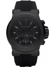 Michael Kors MK8152 Mens viajan todo reloj cronógrafo negro