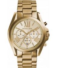 Michael Kors MK5605 Damas Lexington chapado en oro reloj cronógrafo