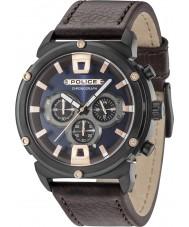 Police 15047JSB-03 Reloj para hombre de la armadura ii