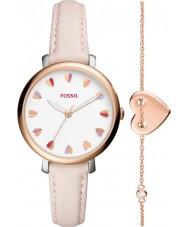 Fossil ES4351SET Conjunto de regalo de reloj de damas jacqueline