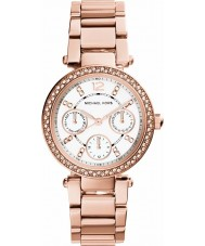 Michael Kors MK5616 Damas Parker reloj de oro rosa plateado