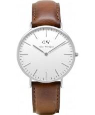 Daniel Wellington DW00100021 Mens clásico de 40 mm varones st reloj de plata