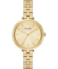 Kate Spade New York 1YRU0858 Holland damas chapado en oro reloj pulsera