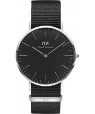 Daniel Wellington DW00100149 reloj de 40 mm Cornwall negro clásico