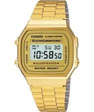 Casio A168WG-9EF Colección de oro chapado en clásico del reloj digital
