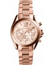 Michael Kors MK5799 Las señoras mini-Bradshaw reloj cronógrafo de oro rosa