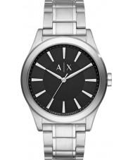 Armani Exchange AX2320 reloj de pulsera de acero de plata vestido de los hombres