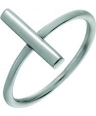 Nordahl Jewellery 125223-56 Las señoras anillo alfiler de plata - tamaño de p