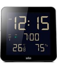 Braun BNC014BK-RC Global reloj de pared controlado por radio - negro