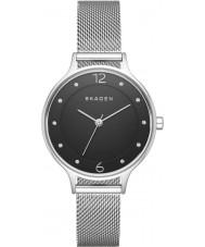 Skagen SKW2473 Señoras del reloj de pulsera de malla de acero de plata anita
