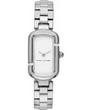 Marc Jacobs MJ3503 Jacobs damas de acero de plata reloj pulsera