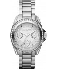 Michael Kors MK5612 Damas Blair tono plateado reloj de acero