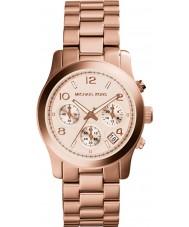 Michael Kors MK5128 Señoras fuera de control aumentaron reloj cronógrafo de oro