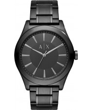 Armani Exchange AX2322 reloj de pulsera de acero negro vestido de los hombres