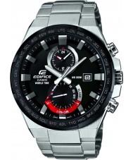 Casio EFR-542DB-1AVUEF reloj de plata para hombre del tiempo del mundo edificio