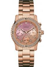 Guess W0774L3 Señoras confeti aumentaron reloj pulsera chapado en oro