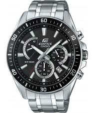 Casio EFR-552D-1AVUEF Mens edificio premium reloj cronógrafo de plata