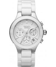 DKNY NY4912 cámaras de señoras reloj pulsera de cerámica blanca