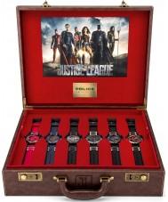 Police 14536JS-SET Juego de regalo del reloj de la liga de justicia de los hombres
