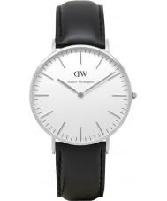 Daniel Wellington DW00100053 Damas clásico Sheffield reloj de plata de 36 mm