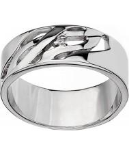 Hot Diamonds DR088-Q Arabesque damas anillo de plata - tamaño q