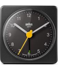 Braun BNC002BKBK reloj despertador cuadrado - negro