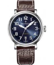 Dreyfuss and Co DGS00153-52 Reloj para hombre de la correa de cuero marrón 1924