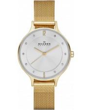 Skagen SKW2150 Anita damas reloj malla de oro