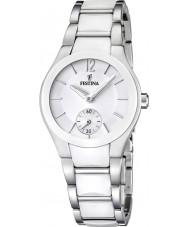 Festina F16588-1 reloj de acero embutido de cerámica damas