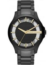 Armani Exchange AX2192 vestido para hombre de acero negro reloj pulsera
