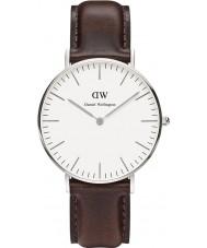 Daniel Wellington DW00100056 Las señoras reloj de plata clásico 36mm Bristol