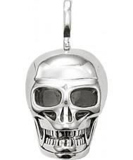 Thomas Sabo PE479-001-12 Mens 925 colgante de plata del cráneo
