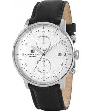 Edward East EDW1901G7 Para hombre reloj cronógrafo de cuero negro