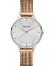 Skagen SKW2151 Anita señoras reloj color de rosa malla de oro