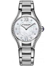 Raymond Weil 5124-STS-00985 Las señoras de plata noemia reloj de acero de diamante