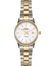 Rotary LB02736-02 Relojes de vengador reloj de oro de dos tonos